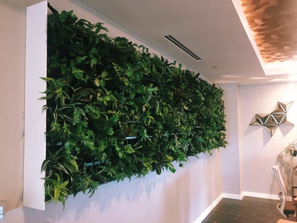 """Living Wall"" at Cast Exeecutive"